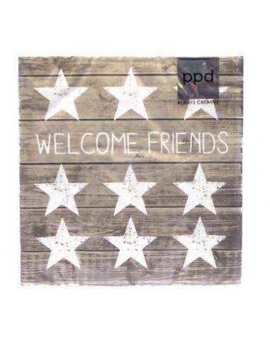 servetten welcome friends