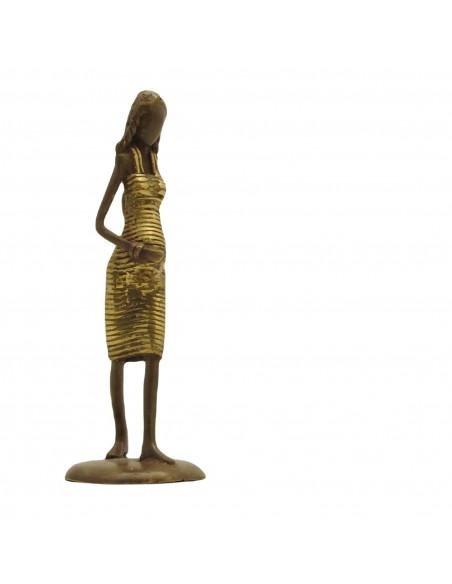 Bronzen beeld Vrouw in verwachting