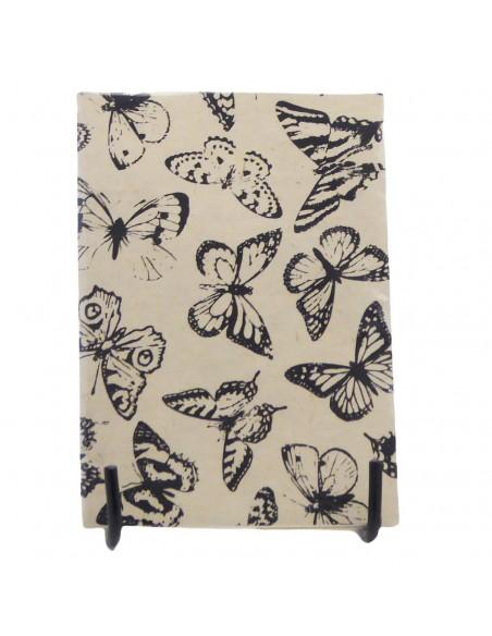 Notitieboekje vlinders