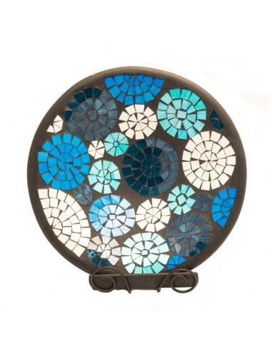 Mozaïek schaal blue circles